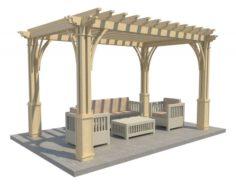 Pergola 12 3D Model
