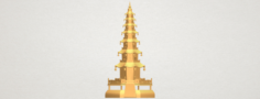 Chiness pagoda 3D Model