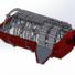 Gsx-s1000a 2017 3D Model