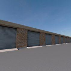 Garages 01 3D Model