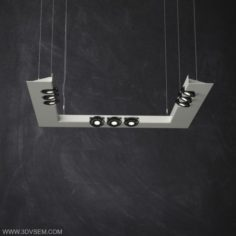 Pendant Ceiling Lamp 3D Model