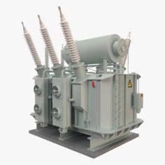 Electrical Transformer2 3D Model