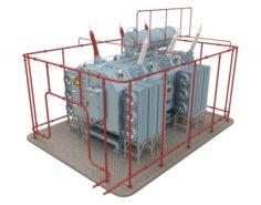 Electrical Transformer5 3D Model