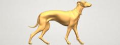 Skinny Dog 02 3D Model