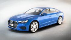 Audi A7 Sportback 2017 3D Model
