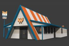 Whataburger Restaurant 3D Model