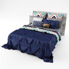 Bedcloth 3D Model