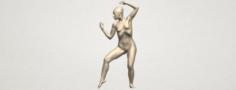 Naked Girl A02 3D Model