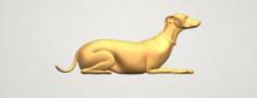 Skinny Dog 04 3D Model