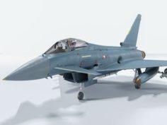 Eurofighter Typhoon Rigged 3D Model