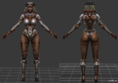 lilith zombie 3D Model