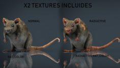 RADIACTIVE RAT 3D Model