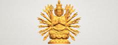 Avalokitesvara Bodhisattva multi hand 04 3D Model