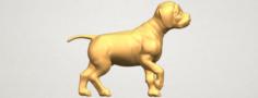 Bull Dog 02 3D Model