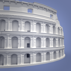 Colisium 3D Model