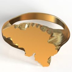 Belgium Ring 2 3D Model