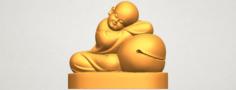 Little Monk 02 3D Model