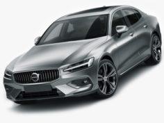 Volvo S60 2019 3D Model