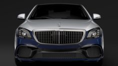 Mercedes AMG Maybach S 65 X222 2019 3D Model