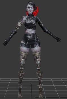 booster zombie origin 3D Model