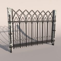 Fence 02 3D Model