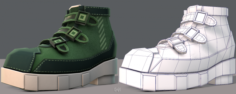 Shoes cartoonV15 3D Model