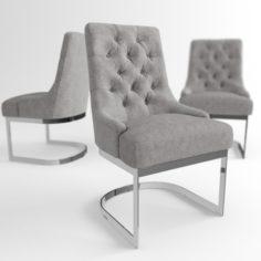 Hoxton dinning chair 3D Model