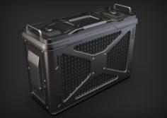 Doom Sci-fi Crate 3D Model
