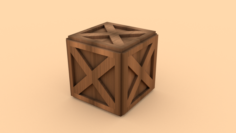 WoodenBarrel – ED 2 3D Model
