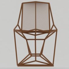 Chair Grill 3D Model