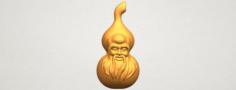 Bottle Gourd 01 3D Model