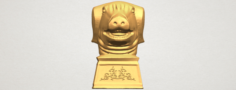 Chinese Horoscope of Pig 02 3D Model