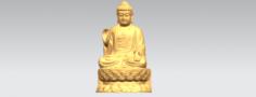 Gautama Buddha 03 3D Model