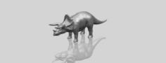 Triceratops 01 3D Model