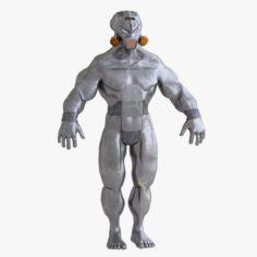 Cyborg utilizer 3D Model