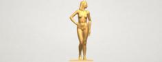 Naked Girl 19 3D Model