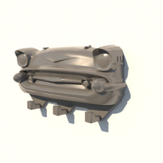 Chevy keychain 3D Model