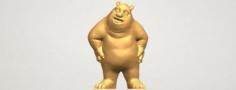 Bear Senior 3D Model