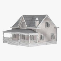 Cottage 06 3D Model