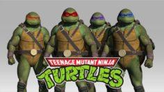 Teenage Mutant Ninja Turtles Pack 3D Model
