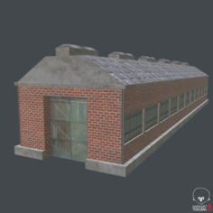 Warehouse 01 3D Model