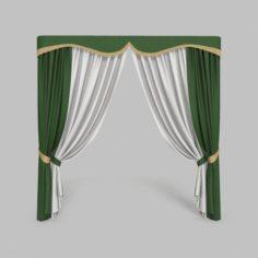 Curtains 4 3D Model
