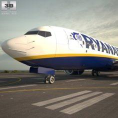 Boeing 737-800 3D Model