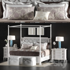 LEXINGTON_HOME_BRANDS_SOUTHAMPTON_POSTER_BED                                      3D Model