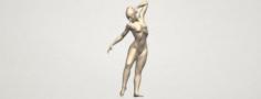 Naked Girl A05 3D Model