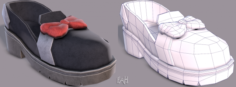 Shoes cartoonV08 3D Model