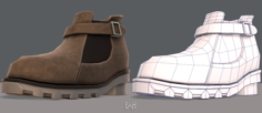 Shoes cartoonV12 3D Model