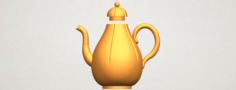 Tea Pot 02 3D Model