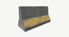 Roadblock01 3D Model