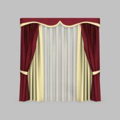 Curtains 5 3D Model